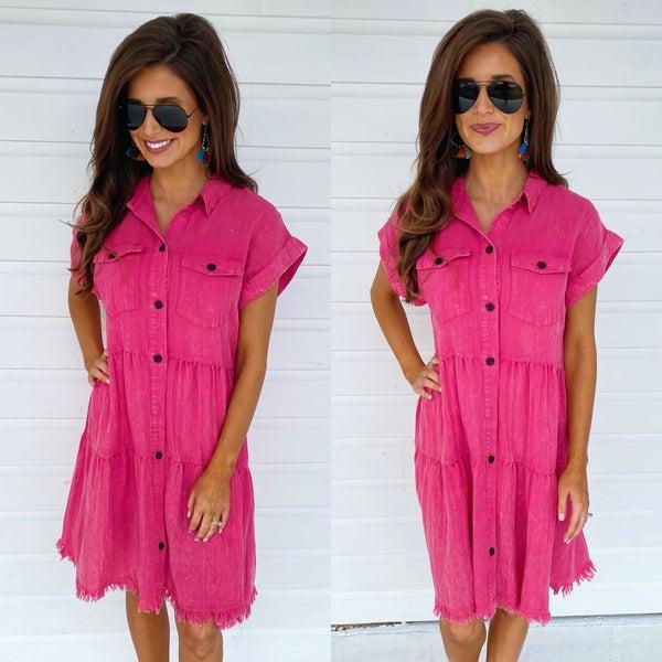 Living On Love Pink Dress