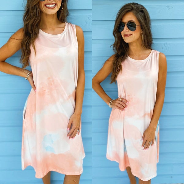 Stay Sweet Tie Dye Dress
