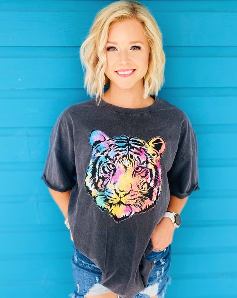 Hear Me Roar Tiger Tee