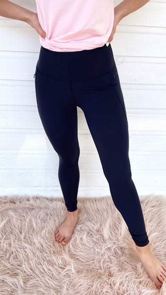 Best Life Black Leggings