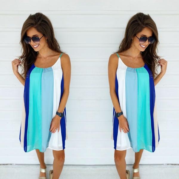 Lakeshore Blue Dress
