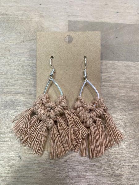 Blush Crochet Earrings