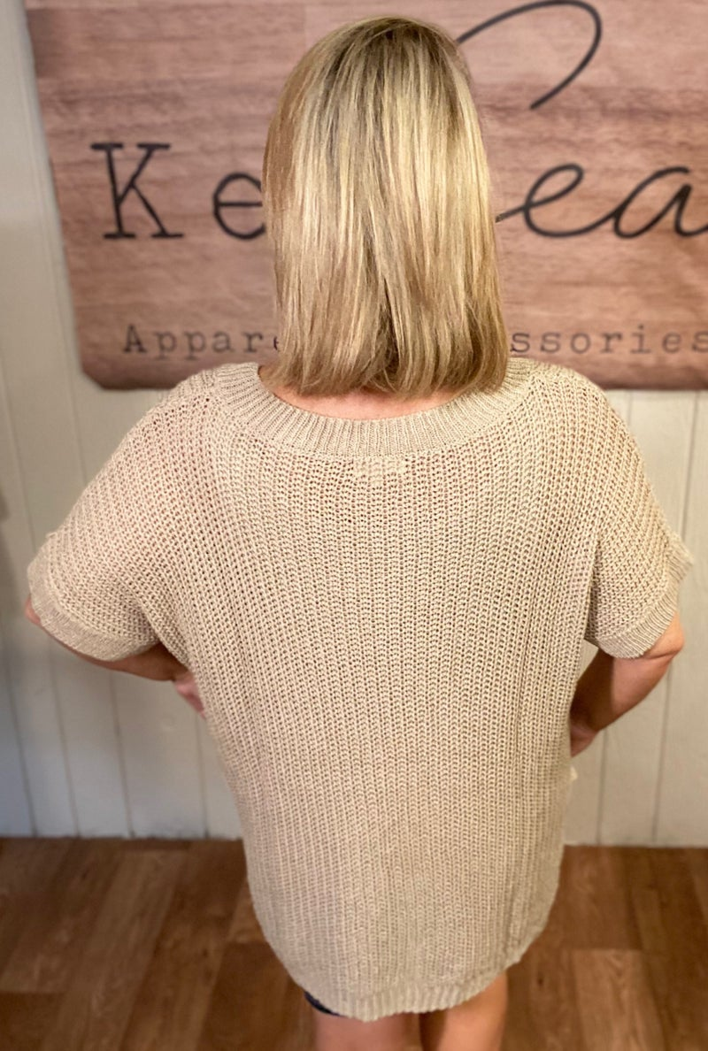 Lighweight Autumn Tunic Sweater