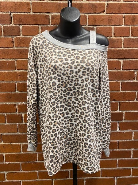Flashdance Leopard Top