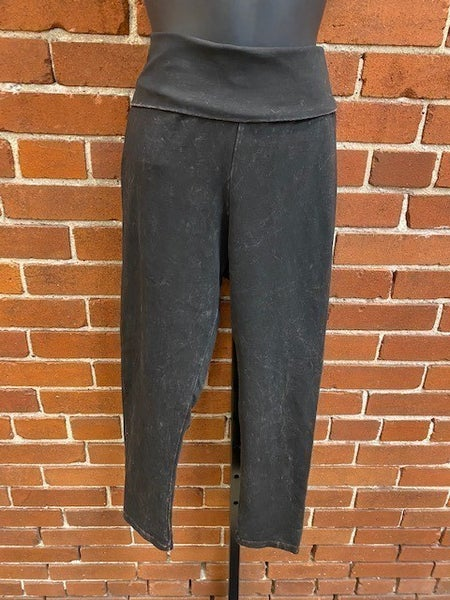 Mineral Wash Ankle Pants