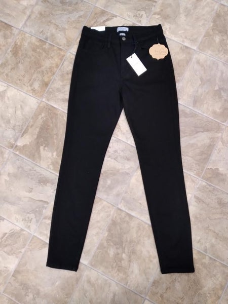 Judy Blue High Waisted Black Skinny Jeans