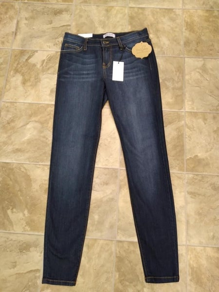 Judy Blue Handsand Resin Skinny Jeans