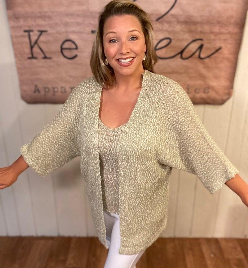 Oatmeal Sweater Set