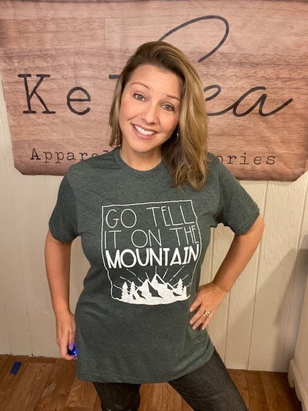 Go Tell It On the Mountain Tee