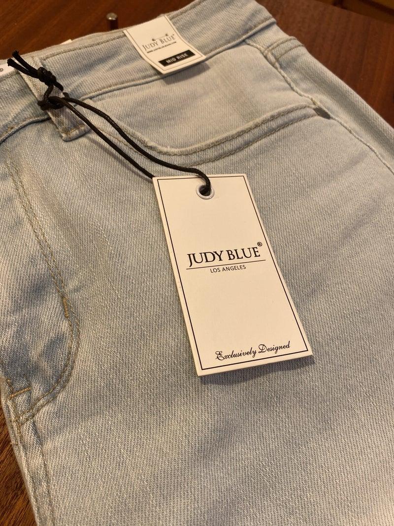 Judy Blue Ultra Light Denim Capris