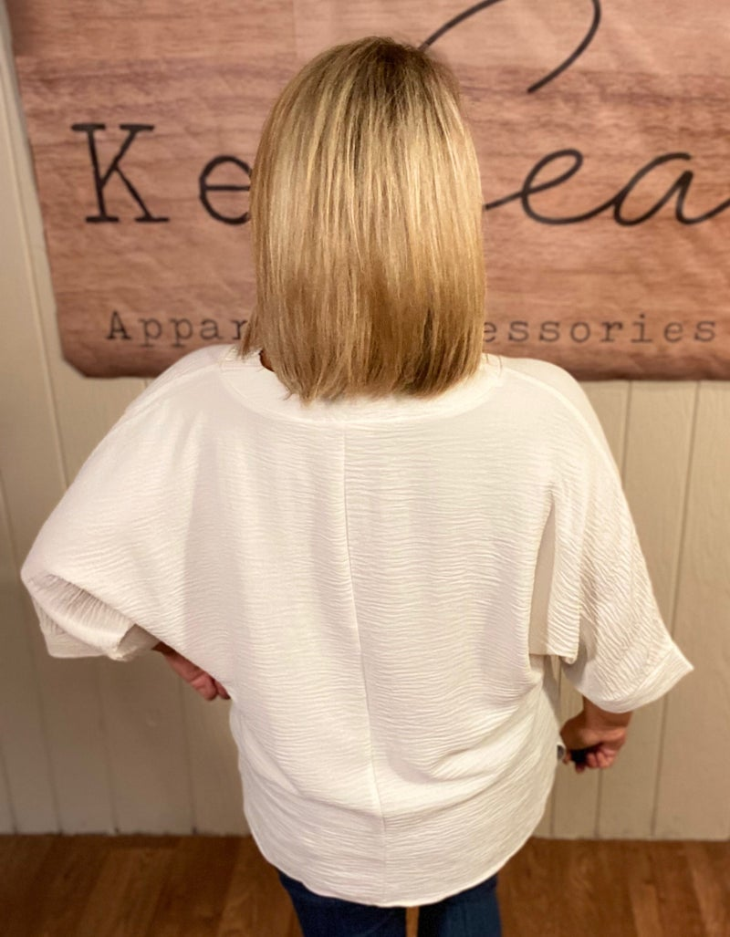 Ivory Airflow Blouse