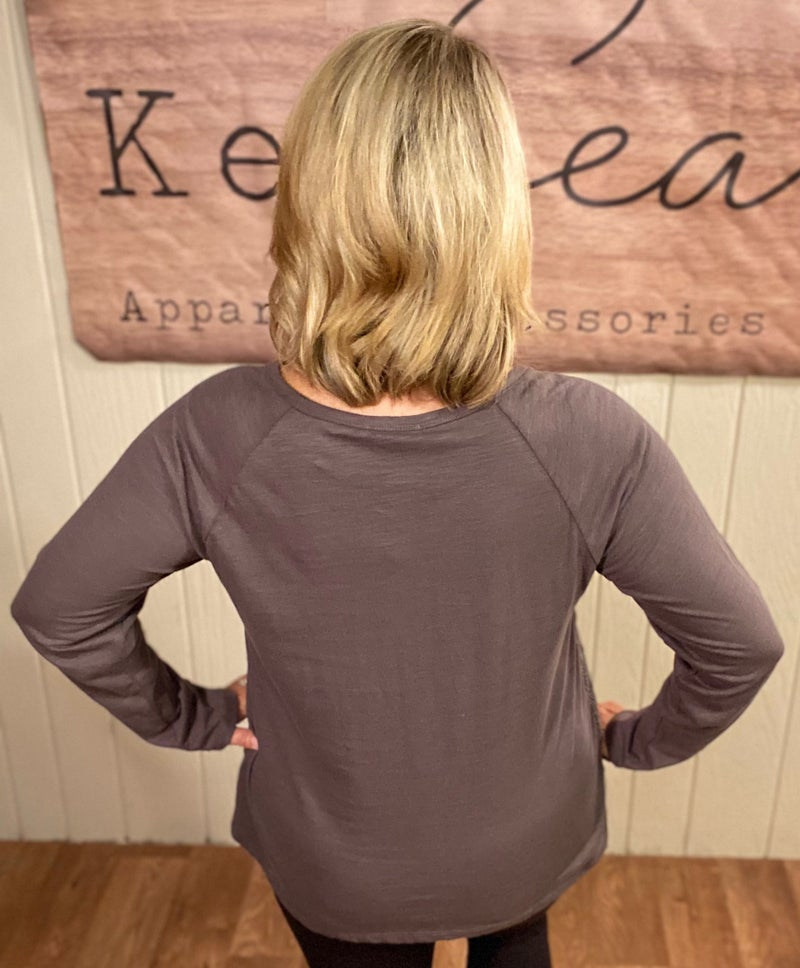 Embroidery Overlay Cotton Top