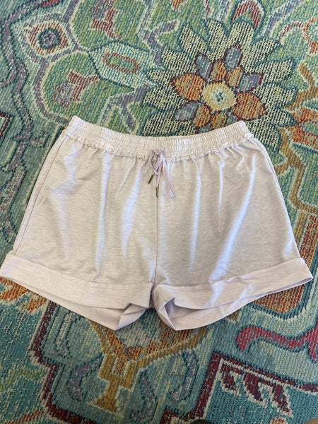 Umgee - Curvy French Terry Shorts