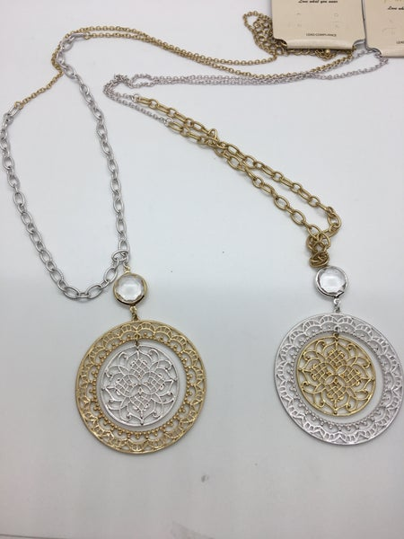 Two-Tone Necklace - 2 Colors