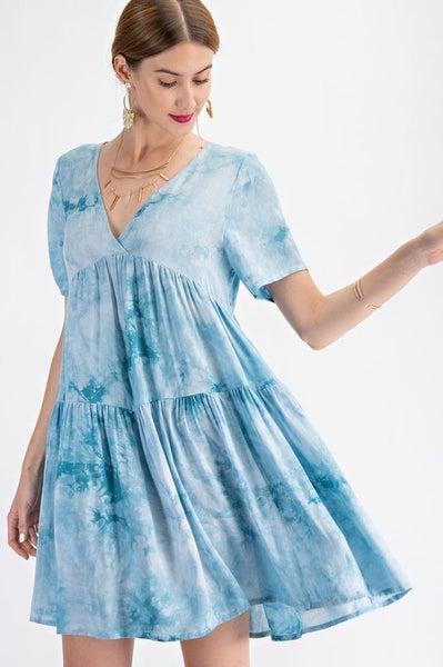 Easel - Tie Dye Dress - 2 Colors