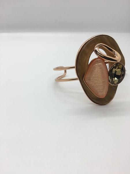 Large Cuff Crystal Bracelet