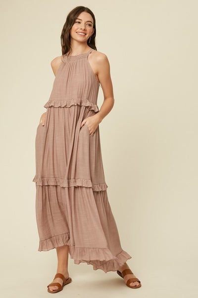 Listicle - Halter Maxi Dress