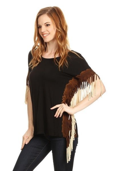 T Party - Side Fringe Top