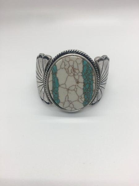 Western Design Texture Stretch Bracelet