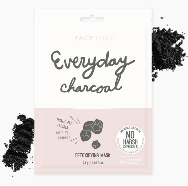 FaceTory - Everyday, Charcoal Detoxifying Mask