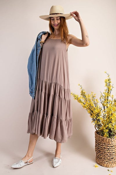 Easel - Walk With Me Cami Dress