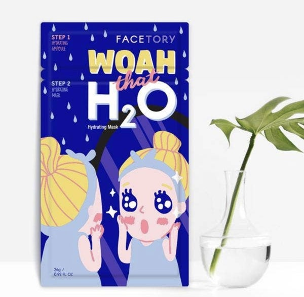FaceTory - Woah That H2O Hydrating 2 Step Mask