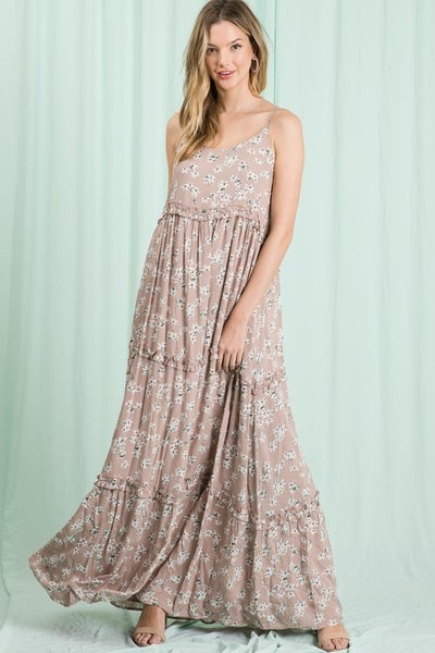 Hailey & Co - Floral Printed Maxi Dress