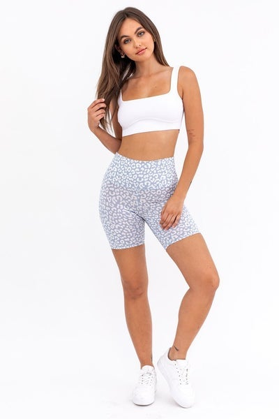 Le Lis - Printed Biker Shorts