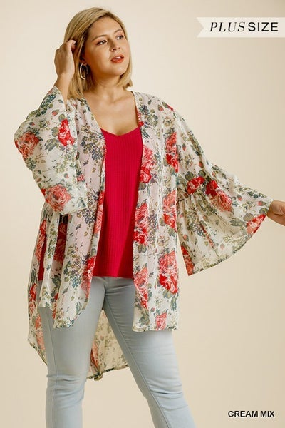 Umgee - Curvy High Low Kimono