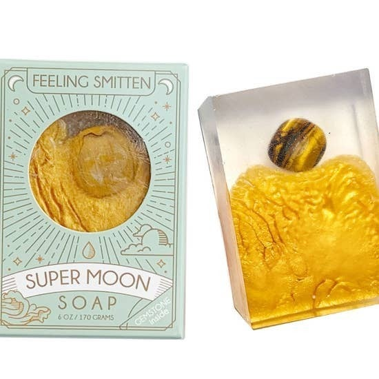 Smitten - Super Moon Soap with Tiger's Eye