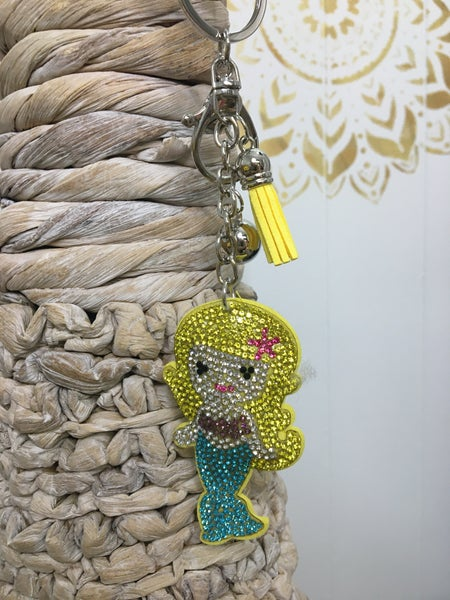 Mermaid Shape Key Chain - TLC