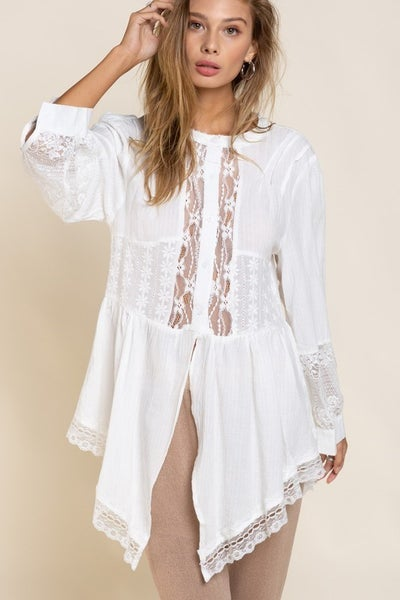 POL - Dainty Lace Top
