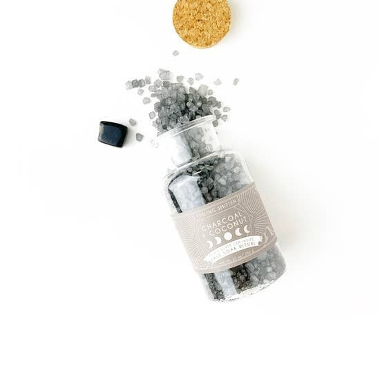 Smitten - Moon Salt Ritual Bath Soak - Dark Moon