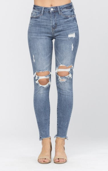 Judy Blue - Knee Destroy Skinny