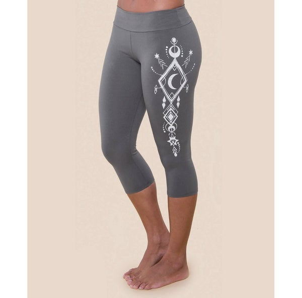 Moon Beam Organic Cropped Leggings