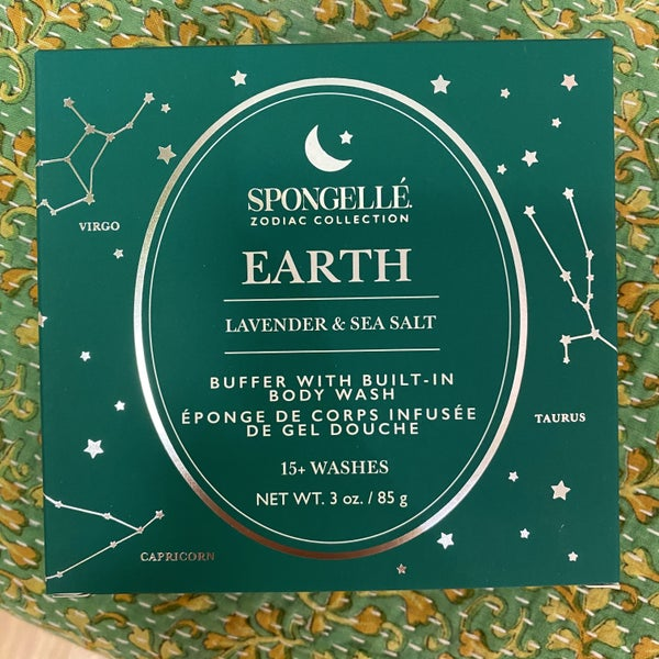 Spongelle - Earth Lavender & Sea Salt Zodiac Collection Buffer