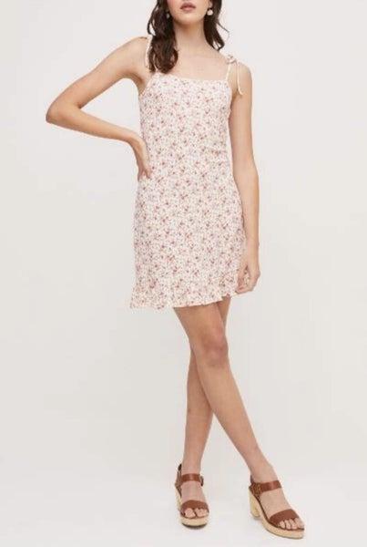 Lush - Pink Floral Dress