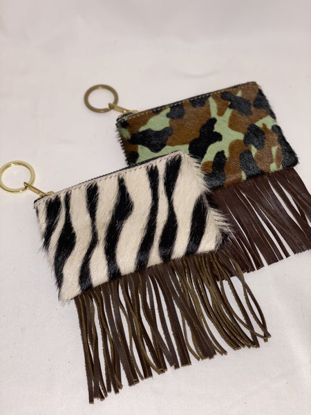 Fringe Coin Purse - 2 Designs