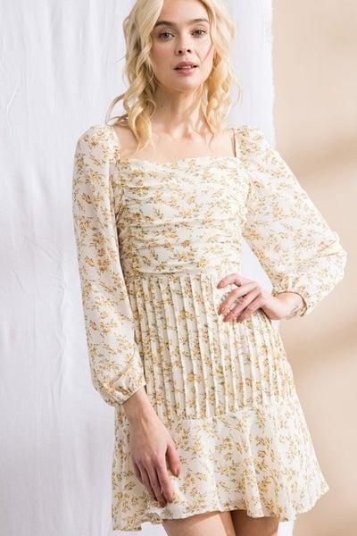 Lena - Floral Print Dress
