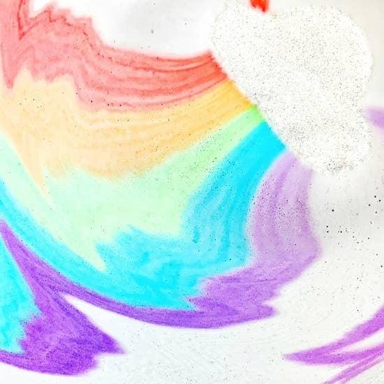 Smitten - Rainbow Cloud Bath Bomb