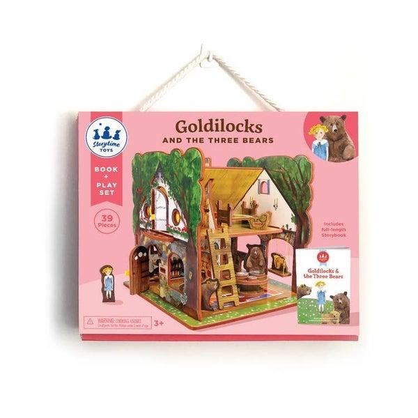 Storytime Toys - Goldilocks and the Three Bears Book & Play Set
