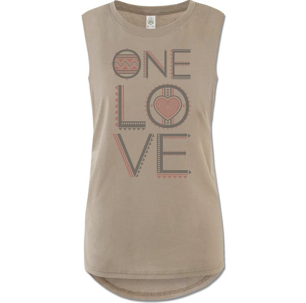 One Love Organic Muscle Tank