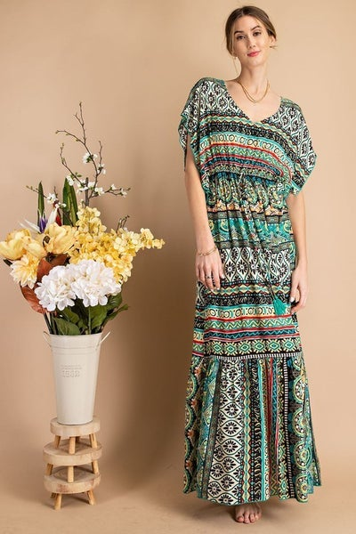 Easel - All Day Long Maxi Dress
