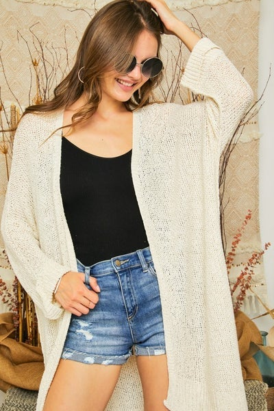 Adora - Long Sleeve Comfy Cardigan