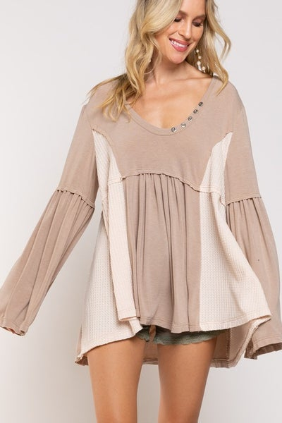 POL - Radiant Knit Boho Top