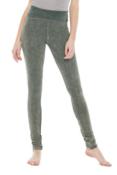 T Party - Folded Mineral Wash Leggings