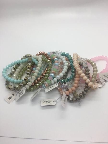 Bead Bracelet - 14 Colors