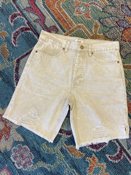 Easel - Baggy Twill Made Tomboy Shorts