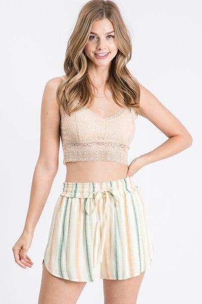 Allie Rose - Multi Stripe Short Pants