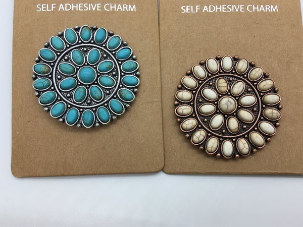 Self Adhesive Charm - 4 Colors